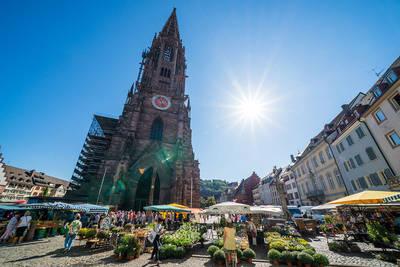 Münstermarkt Freiburg. (© FWTM-Bender)