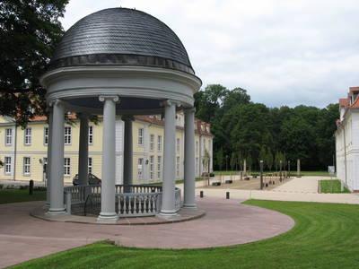 Brunnentempel  Gesundbrunnen  Ev. AkademieStadt Hofgeismar. (© Offene Brunnenparkführungen)
