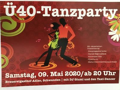 ü40 Tanzparty