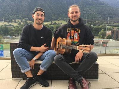 Gion Carigiet & David Friedli im Hotel Ucliva in Waltensburg