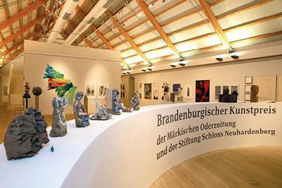 Ausstellungshalle Schloss Neuhardenberg, Foto: Winfried Mausolf