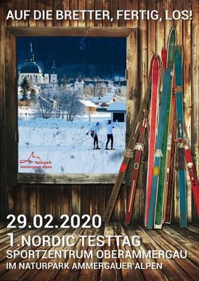 1. Nordic Testtag im Naturpark Ammergauer Alpen