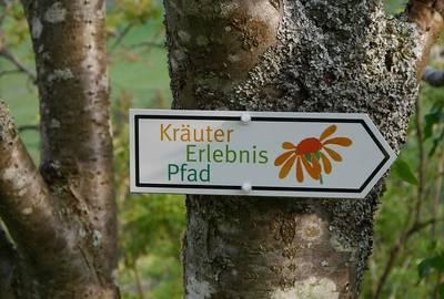 Kräuter-Erlebnispfad - Kleine Tour, ca. 3,8 km