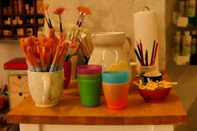 Keramik selbst bemalen Das kann jeder