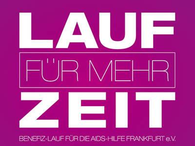 Lauf für mehr Zeit 2020 Förderverein der AIDS-Hilfe Frankfurt e.V.. (© Lauf für mehr Zeit 2020)