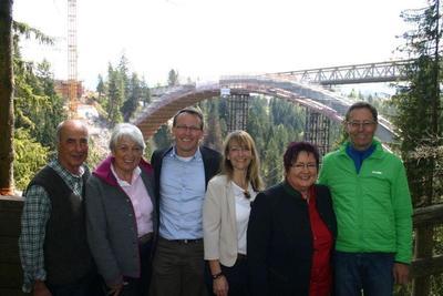 Führung an der Echelsbacher Brücke