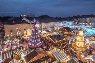 Weihnachtliches Saarlouis bei Punsch & Schokolade. (© Alois Schuhn)