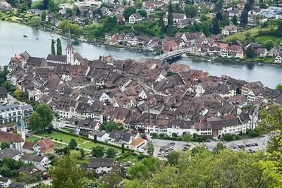Fahrt nach Stein und zum Rheinfall - Führung durch die Altstadt und individuelle Besichtigung des Wasserfalls