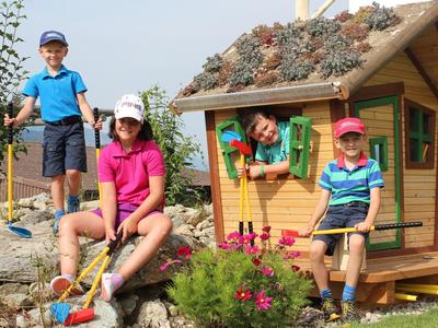 Kids-Golf Schnupperkurs in Brigels
