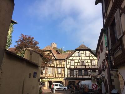Fahrt nach Kaysersberg, Riquewihr und Ribeauville - individuelle Besichtigung der Orte. (©  Dr. Jochen Schwendemann, ab durchs ländle)