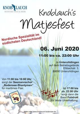Knoblauchs Matjesfest