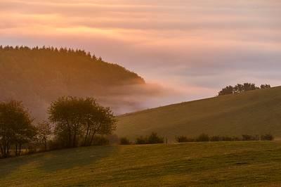 Morgenstimmung Kalied  Kahle Pön. (© Rothaarsteigverein e.V.  K.-P. Kappest)