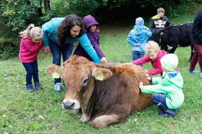 Kinderprogramm: Besuch auf dem Hof Hüttenberg