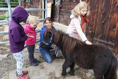 Kinderprogramm: Pony-Nachmittag auf dem Hof Hüttenberg