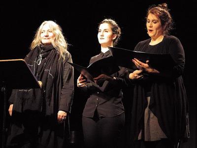Konzert in der OGNA mit La triada in Trun