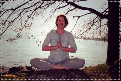Yoga am Kniebach