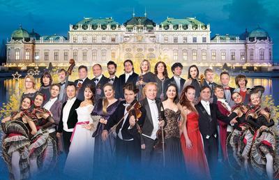 OPERETTEN GALA - Die große Johann Strauß Gala mit Solisten, Ballett und Mitglieder des Gala Sinfonie Orchesters Prag