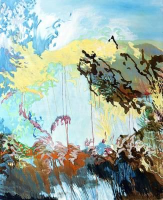 Vernissage zur Ausstellung: Nicole Bold Jeder möchte seinen Süden - Malerei