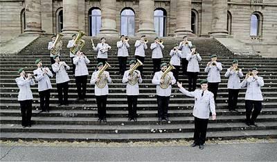 Benefizkonzert - Heeresmusikcorps Kassel in Adorf