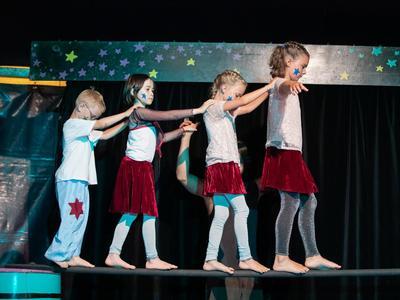Galavorstellung - Zirkus Lollypop in Brigels