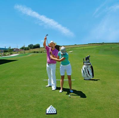 Schnupper-Golf auf der Driving-Range