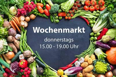 Wochenmarkt am Wohnmobilstellplatz Bad Bellingen