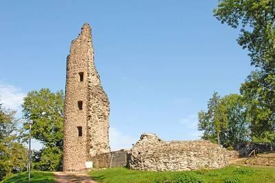 Burg Dagstuhl. (© Tourist-Info der Stadt Wadern)