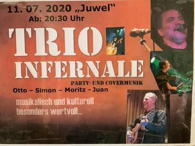 Rock meets Trödel mit Trio Infernale