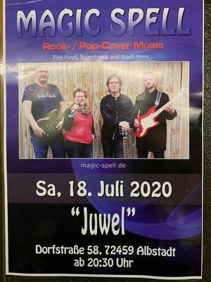 Rock meets Trödel mit Magic Spell