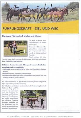 PferdeCoaching-Seminar
