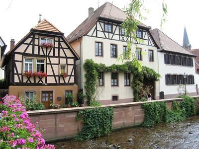 Ettlingen, Partie an der Alb. (© Museum Ettlingen)