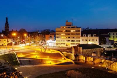 Stadtführung Saarlouis: Vauban en lumieres. (© Yannik Planta)