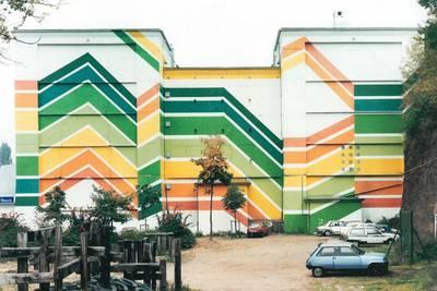 Saarbrücken, Burbacher Markt, 1986  Boris Becker, VG Bild-Kunst, Bonn 2020. (© Boris Becker)