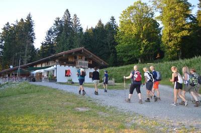 Hüttenwanderung: Goldsteig-Gehnuss