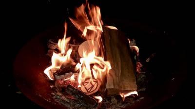 Feuerritual am Hölzleberg