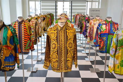 Gianni Versace Retrospective im MAC Museum Art & Cars
