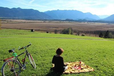 Radtour und Malen Auf den Spuren des Blauen Reiters
