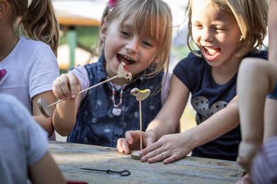 Offene Werkstatt für Familien: Zum Kuckuck nochmal