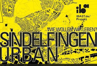 Ausstellung IBA Projekt: Konversion des Sindelfinger Krankenhausareals