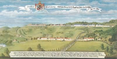 Das versunkene Schloss Karlsberg  -  Eine Wanderung durch die barocke Geschichte Homburgs