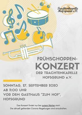 Frühschoppen-Konzert der Trachtenkapelle Hofsgrund e.V.