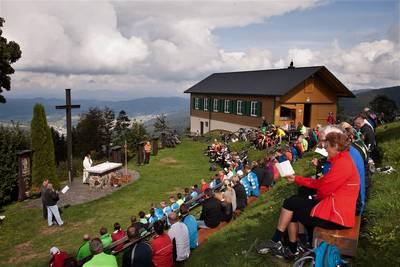 21. Mountainbike-Wallfahrt auf den Hörnleberg