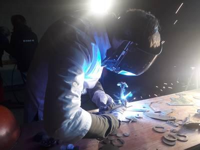 Schweißkurs - Kreatives Schweißen mit Stahlschrott