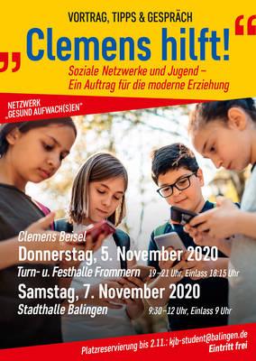 Clemens hilft - Soziale Netzwerke und Jugend  Ein Auftrag fr die moderne Erziehung