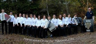 ABGESAGT. Sonntags-Konzert mit dem Harmonika-Orchester Häusern