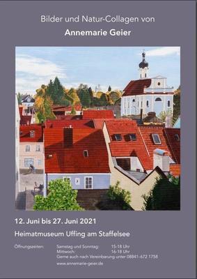 Gemälde von Frau Annemarie Geier,Murnau