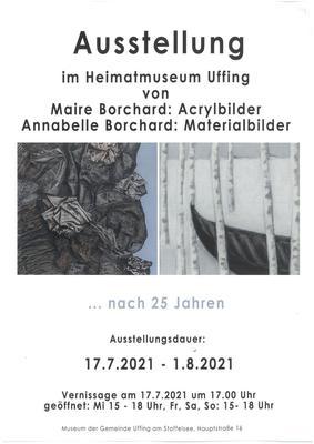 Gemälde von Maire Borchard und Annabel Borchard