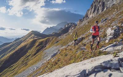 Trailrunning im RätikonPrättigau Tourismus, Jo Werner. (© Rätikon Trail Days)