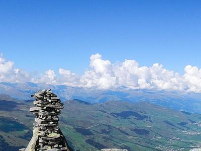 Geführte Bergwanderung Péz Regina in der Val Lumnezia