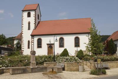 Kirche in Wolfersheim. © Saarpfalz-Touristik, Wolfgang Henn